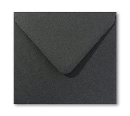 Envelop 14 x 14 cm  Jagergroen