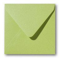 Envelop 14 x 14 cm Metallic Green