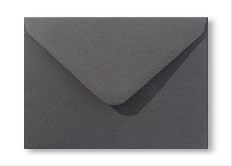 Envelop 15,6 x 22 cm Antraciet