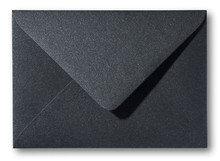 Envelop 15,6 x 22 cm Metallic Black