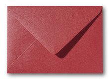Envelop 15,6 x 22 cm Metallic Rosso