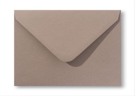 Envelop 15.6 x 22 cm Zandbruin