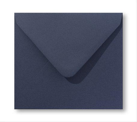 Envelop 16 x 16 cm Marine blauw
