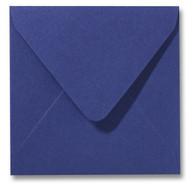 Envelop 16 x 16 cm Metallic Blue