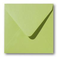 Envelop 16 x 16 cm Metallic Green