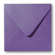 Envelop 16 x 16 cm Metallic Violet