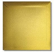 Envelop 22 x 22 cm Metallic Goud