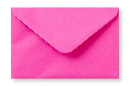 Envelop 8 x 11,4 cm Knalroze