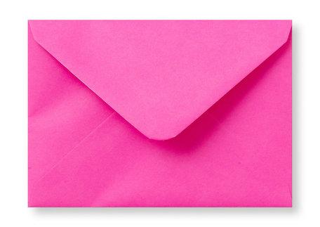 Envelop 9 x 14 cm Knalroze