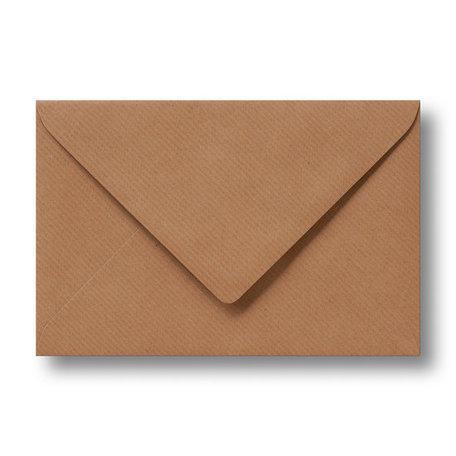 Envelop 9 x 14 cm Kraft bruin