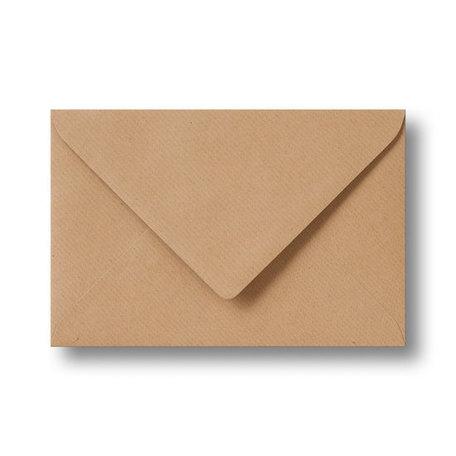 Envelop 9 x 14 cm Kraft lichtbruin