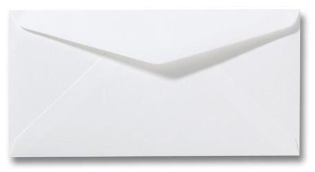 Envelop 9 x 22 cm Wit