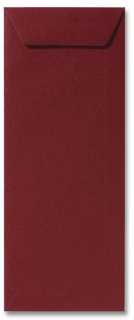 Envelop 12,5 x 31,2 cm Donkerrood