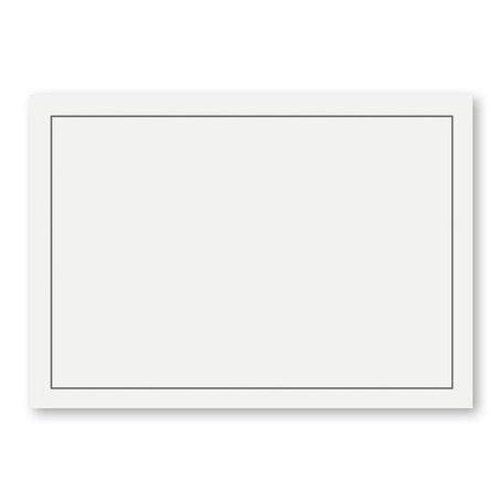 Rouw envelop 12 x 18cm Wit