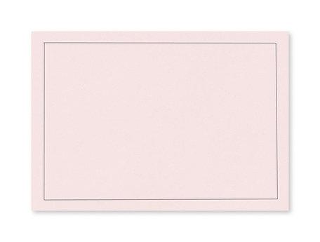 Rouw envelop 12 x 18cm Lichtroze