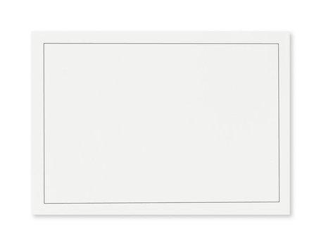 Rouw envelop 12 x 18cm Gebroken Wit