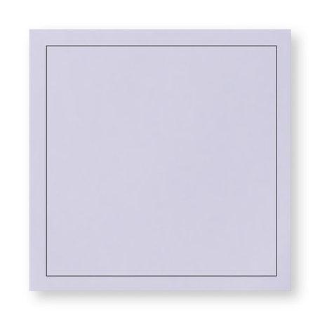 Rouw envelop 14 x 14 cm Lavendel