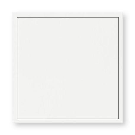 Rouw envelop 16 x 16 cm Gebroken Wit