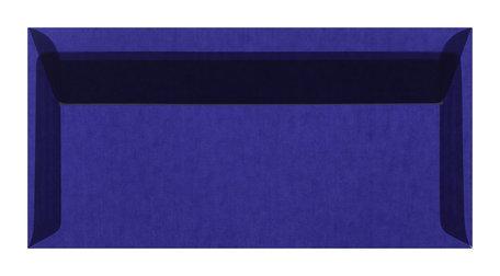 Envelop 11 x 22 cm transparant Donkerblauw