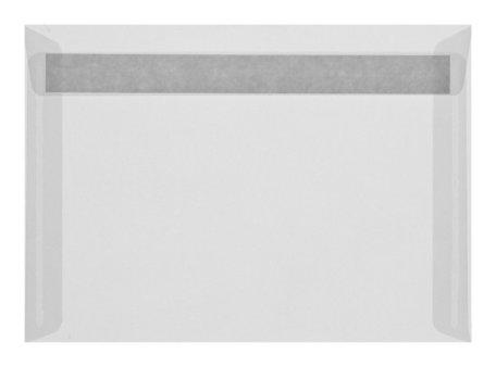 Envelop 16,2 x 22,9 cm transparant Wit