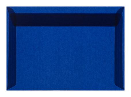 Envelop 16,2 x 22,9 cm transparant Blauw