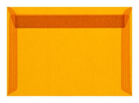 Envelop 16,2 x 22,9 cm transparant Oranje
