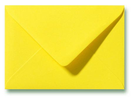 Envelop 12,5 x 17,6 cm Kanariegeel