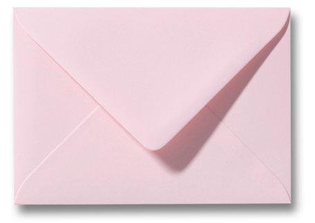 Envelop 12,5 x 17,6 cm Lichtroze
