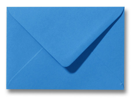 Envelop 12,5 x 17,6 cm Koningsblauw