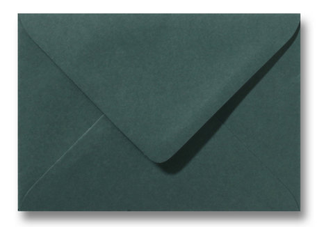 Envelop 12,5 x 17,6 cm Donkergroen