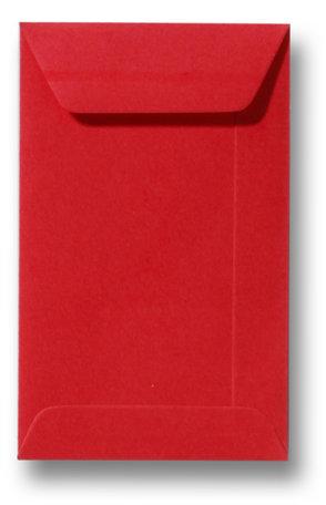 Envelop 22 x 31,2 cm Koraalrood
