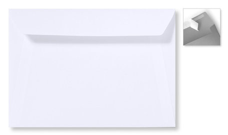 Envelop 15.6 x 22 cm Striplock Wit