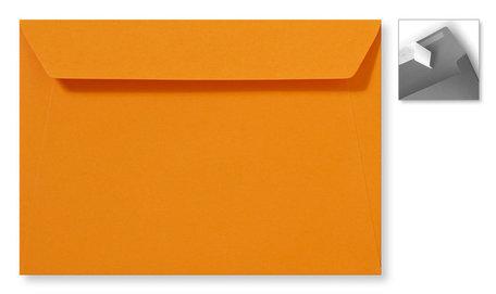 Envelop 15.6 x 22 cm Striplock Feloranje