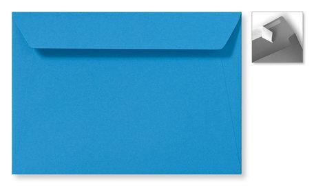 Envelop 15.6 x 22 cm Striplock Koningsblauw