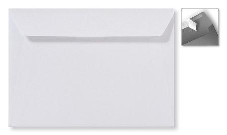 Envelop 15.6 x 22 cm Striplock Metallic Extra white