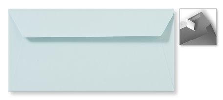 Envelop 11 x 22 cm Striplock Zachtblauw