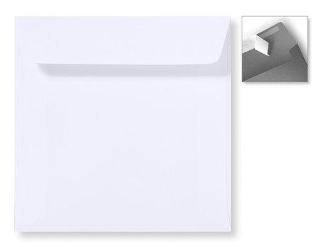 Envelop 16 x 16 cm Striplock Wit