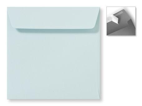 Envelop 16 x 16 cm Striplock Zachtblauw