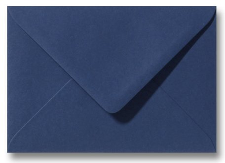 Envelop 11 x 15,6 cm Donkerblauw