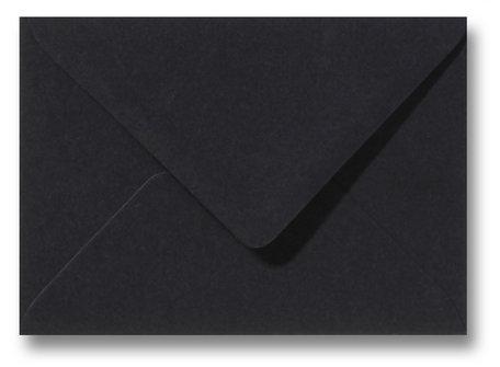 Envelop 11 x 15,6 cm Zwart