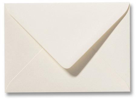 Envelop 11 x 15,6 cm Fiore Creme