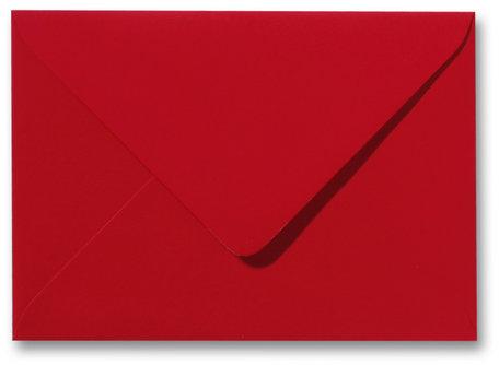 Envelop 11 x 15,6 cm Softskin Rood