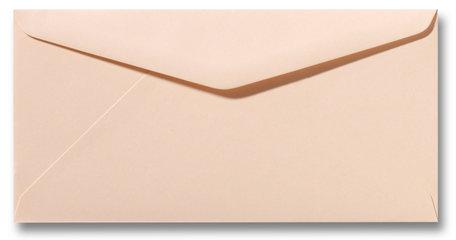 Envelop 11 x 22 cm Abrikoos