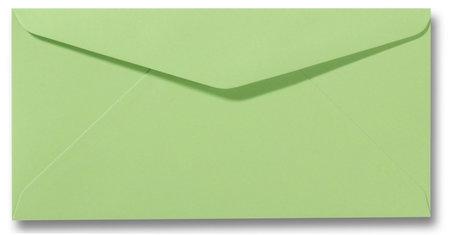 Envelop 11 x 22 cm Appelgroen