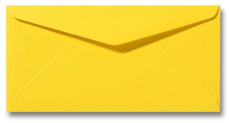 Envelop 11 x 22 cm Boterbloemgeel