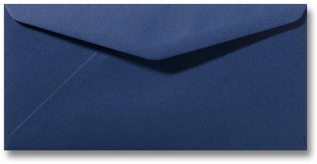 Envelop 11 x 22 cm Donkerblauw