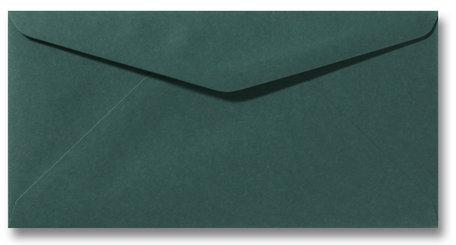 Envelop 11 x 22 cm Donkergroen