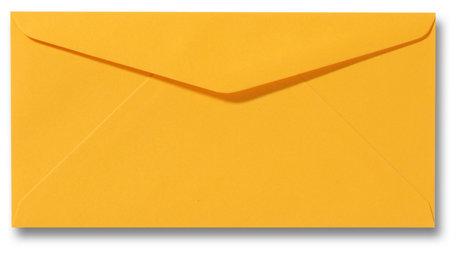 Envelop 11 x 22 cm Goudgeel