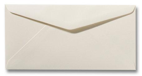 Envelop 11 x 22 cm Ivoor