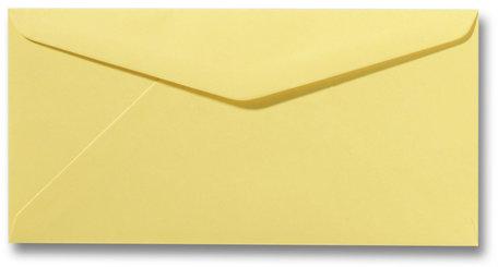 Envelop 11 x 22 cm Kanariegeel